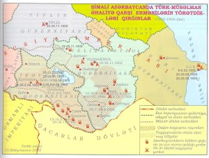 Erməni silahlı dəstələrinin 1905-1906-cı illərdə Cənubi Qafqazda törətdikləri qırğınlar