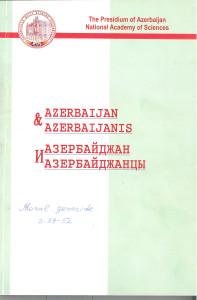 Azerbaican ve azerbaycanlilar 2006,N1-4