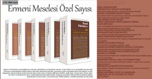 """Nazim Mustafanın məqaləsi Yeni Türkiyə jurnalının """"Erməni Məsələsi Xüsusi Sayı""""-da çap olunmuşdur"""
