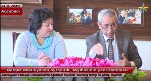 """""""Qafqaz Albaniyasını öyrənirik"""" layihəsinin yeni səhifələri"""