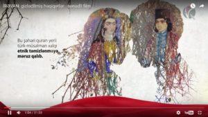 """Nazim Mustafanın ssenari müəllifi olduğu """"İrəvan şəhəri: gizlədilmiş həqiqətlər"""" sənədli filmi"""