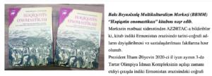 """""""Həqiqətin onomastikası"""" kitabı işıq üzü görüb"""